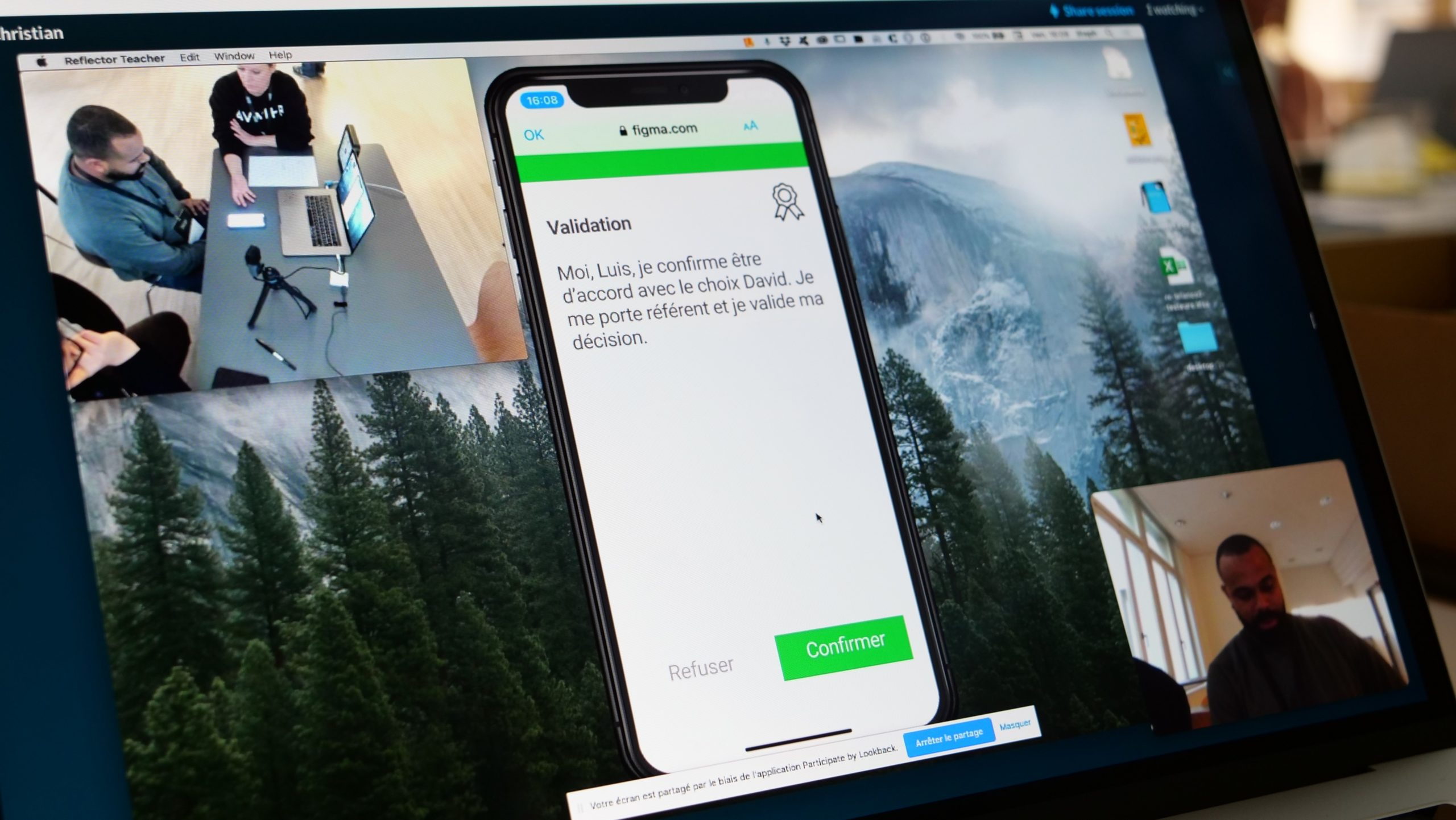 Design Sprint User test app