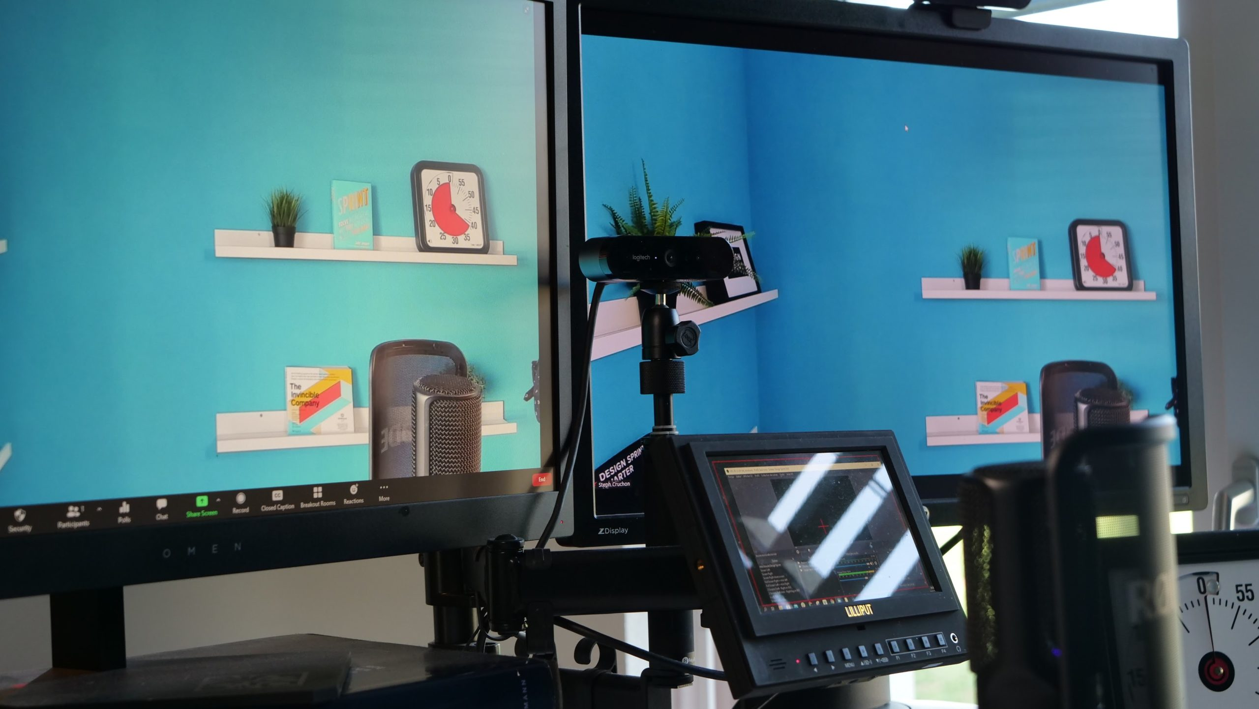 Remote virtual design sprint studio