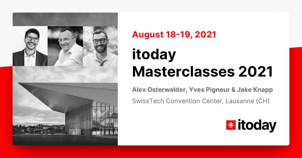 Itoday Jake Knapp, Alex Osterwalder EPFL